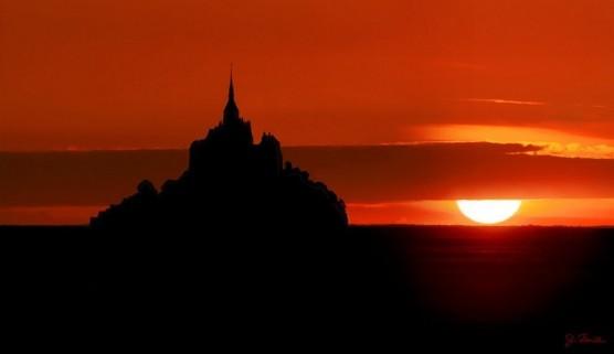 Mont St-Michel sunset